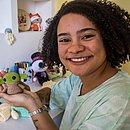 Marília aprendeu a bordar e a tricotar durante o isolamento social: 'resolvi me aventurar para ver como era e me apaixonei'