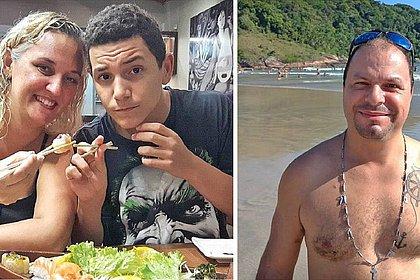 As vítimas são Romuyuki Gonçalves, sua mulher, Flaviana Gonçalves, e o adolescente Juan Gonçalves