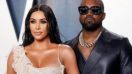 Kanye West diz que tenta se divorciar de Kim Kardashian há dois anos