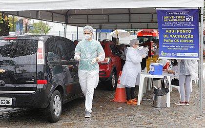 Mais de 40 mil pessoas tomam vacina contra a gripe em primeiro dia de campanha