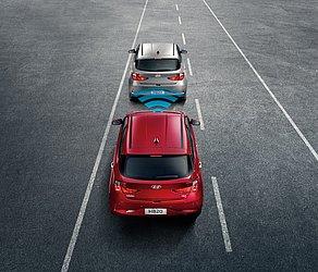 A nova geração do Hyundai HB20 conta com um radar que pode até parar completamente o carro para evitar uma colisão frontal