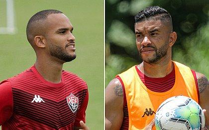 João Victor e Maurício Ramos nunca saíram do campo pelo time principal