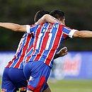 Paraguaio Oscar Ruiz mostrou estrela marcou gol no primeiro toque na bola pelo Bahia