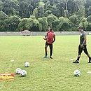 Time fez um treino leve pela manhã no Barradão