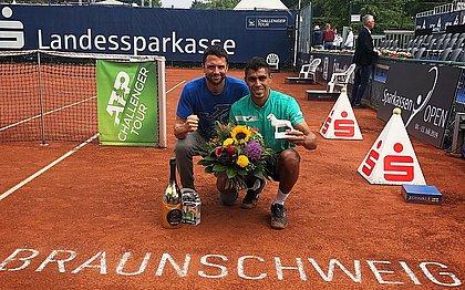 Thiago Monteiro venceu o Challenger de Brauschw