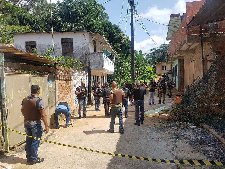 CP invade localidade da BDM no Cabula e deixa dois mortos