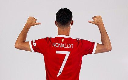 Cristiano Ronaldo agora veste a camisa do Manchester United
