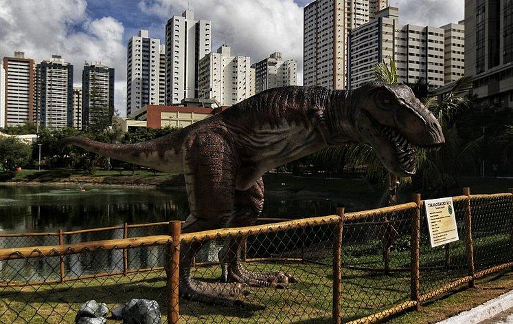 lagoa dos dinossauros