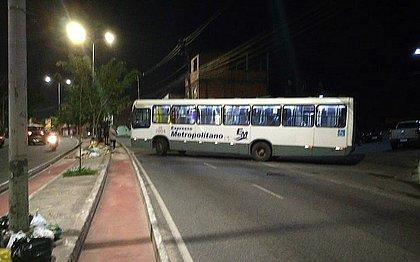 Segundo a SSP, ônibus foi atravessado na Suburbana durante ação que teria envolvido quatro PMs grevistas