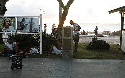Monumento fica bem em frente ao Forte Santa Maria