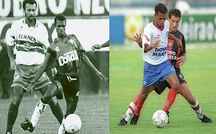 Bebeto Campos fez sucesso com as camisas de Vitória e Bahia