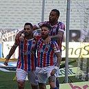 Gilberto marcou os dois gols do triunfo tricolor sobre o Ceará fora de casaso