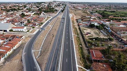 Governo Federal entrega duplicação da BR-116 entre Feira e Santa Bárbara