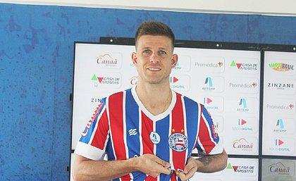 Integrado ao elenco do Bahia, Galdezani pode ser novidade na partida contra o Fortaleza