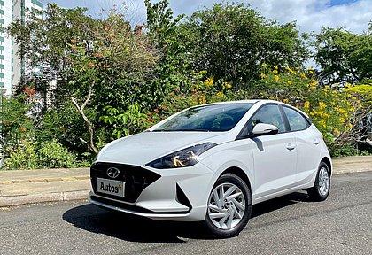 A versão Evolution é a opção mais barata do Hyundai HB20 com o sistema de conectividade Bluelink, custa R$ 68.990