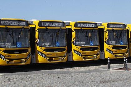 OS 70 novos ônibus com ar começam a roda na quinta-feira, 07