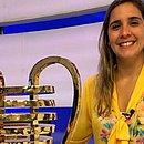 Manuela Avena vai narrar a partida entre Bahia e Ceará, pela final do Nordestão