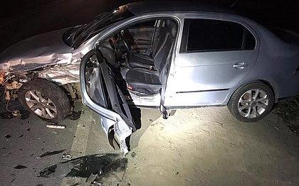 Acidente deixa cinco feridos em Ilhéus; motorista estava embriagado