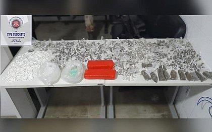 Mais de mil porções de drogas são apreendidas em Itambé