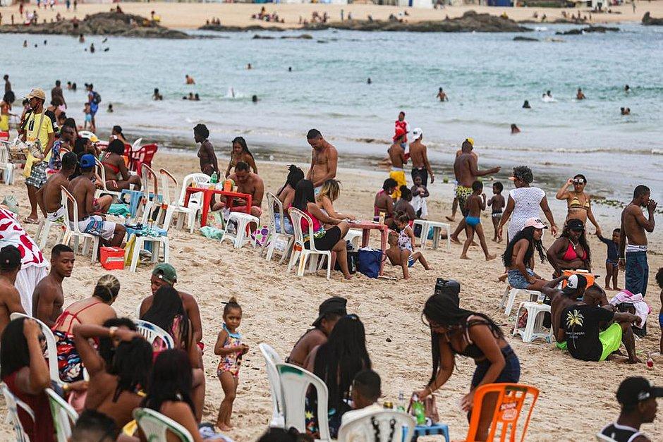 Mesmo com praias liberadas, soteropolitanos insistem em ir às interditadas
