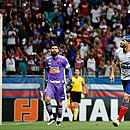 Gilberto comemora o 14º gol marcado por ele na Série A