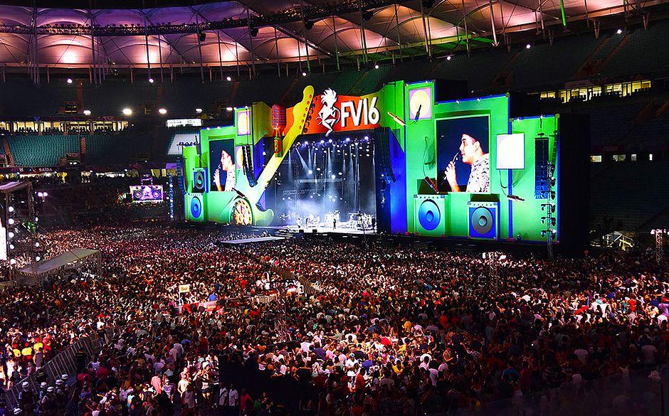 Edição de 2016 foi a primeira na Arena Fonte Nova