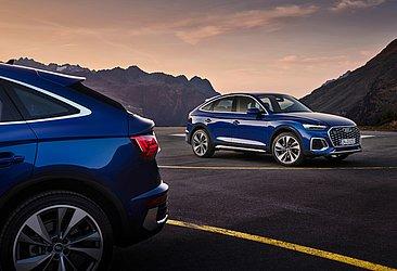 A configuração Sportback irá concorrer com BMW X4 e Mercedes-Benz GLC Coupé