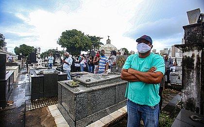 País tem 2.730 mortes por covid em 24h; total em uma semana supera 15 mil