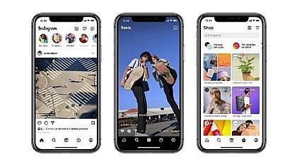 Seu Instagram mudou? De cara nova, o layout agora foca em Reels e compras