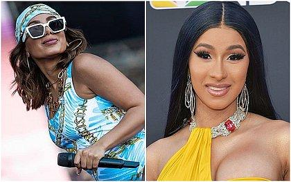 Colaboração entre Anitta e a rapper americana Cardi B é real