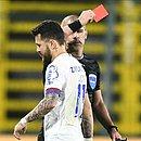 Segundo Mano Menezes, Rossi será punido por expulsão em jogo que determinou a eliminação do Bahia na Sul-Americana