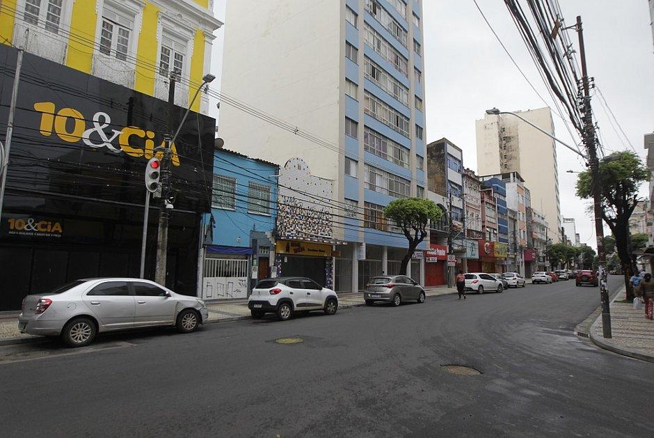 Avenida Sete é reflexo da situação do comércio