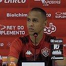 Leandro Silva não conseguiu se firmar no time do Vitória em 2020