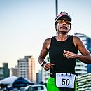 Em um ano, Vivianefez, de forma gradativa, a transição de simples caminhadas para corridas mais intensas