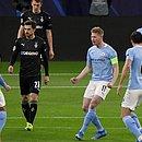 De Bruyne marcou golaço sobre o Borussia Mönchengladbach