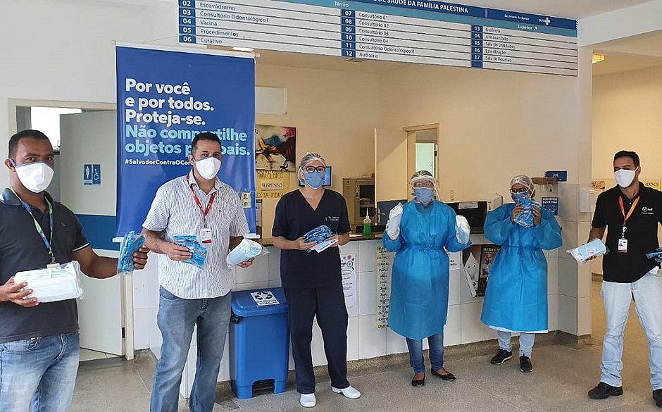 Mais de 30 mil máscaras são doadas pela BRF para Secretaria de Saúde de Salvador