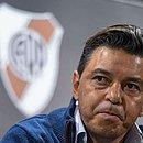 Marcelo Gallardo critica a Conmebol por mudança de local da decisão