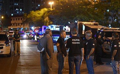PMs participam de reconstituição da morte do empresário Márcio Perez