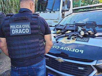 Policial militar épreso em Salvador por extorsão mediante sequestro