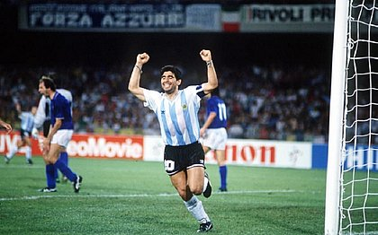 Maradona na Copa do Mundo de 1990