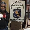 Geleia foi preso por policiais na Fronteira do Brasil com o Paraguai