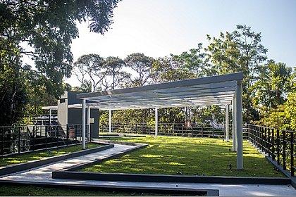 Jardim Botânico foi criado em 2002 e reforma começou em 2019