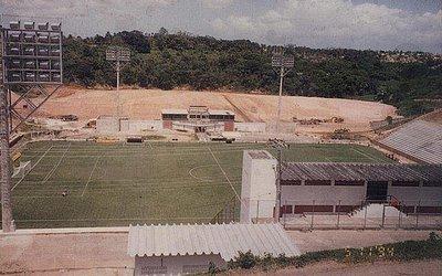 Obras do centro de treinamentos começou em 1994