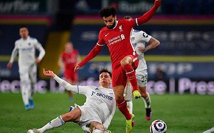 Liverpool empatou em 1x1 com o Leeds