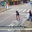 Moradora de rua é morta a tiros após pedir R$ 1 de esmola em Niterói (Foto: Reprodução)