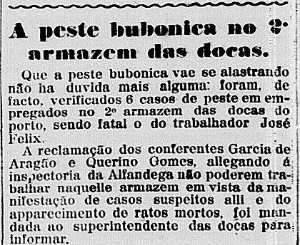 Feste bubônica assombrou Salvador em 1914 e 1915