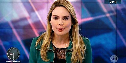 Rachel Sheherazade será dispensada do SBT após 9 anos de emissora
