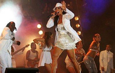 Em 2007, ela levou para o Festival o repertório do seu segundo CD