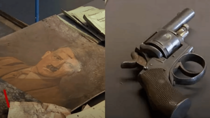 Fortes chuvas na Alemanha revelam esconderijo de artefatos nazistas