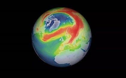 Maior buraco já registrado na camada de ozônio do Ártico finalmente se fecha